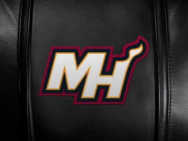 Miami Heat Secondary Logo Panel For Xpression Gaming Chair Only