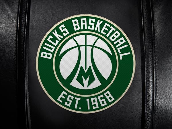Milwaukee Bucks Secondary Logo Panel For Xpression Gaming Chair Only