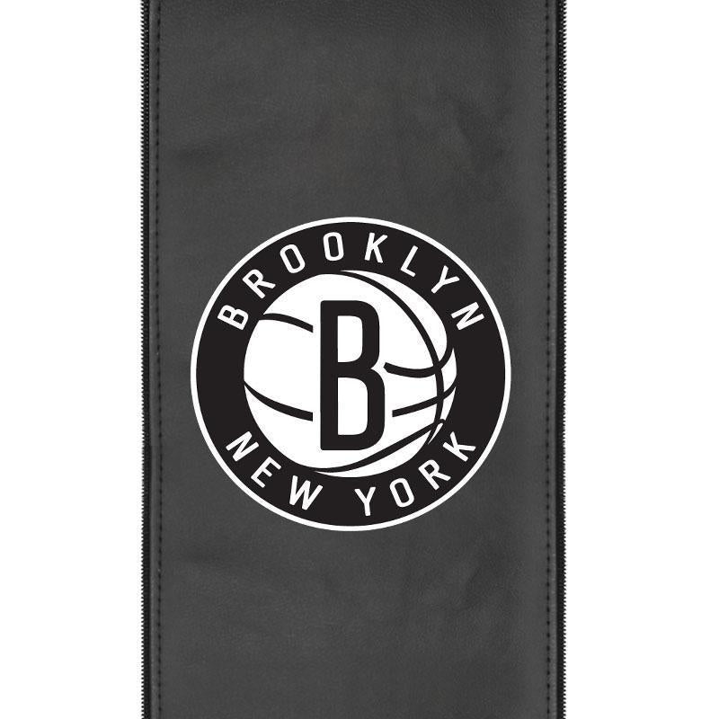 Brooklyn Nets Secondary Logo Panel For Xpression Gaming Chair Only