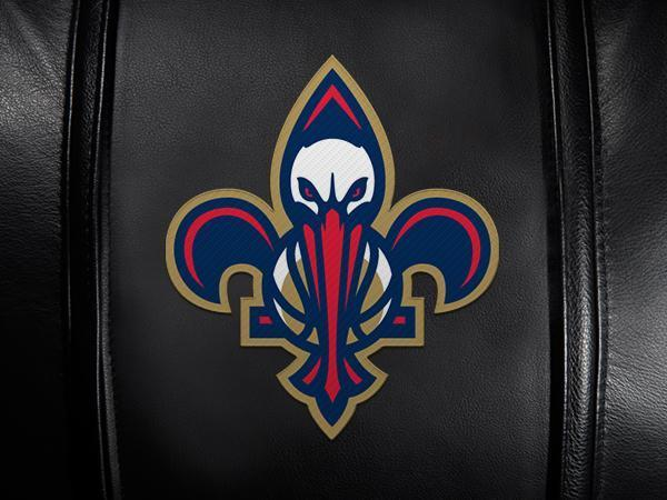 New Orleans Pelicans Secondary Logo Panel For Xpression Gaming Chair Only