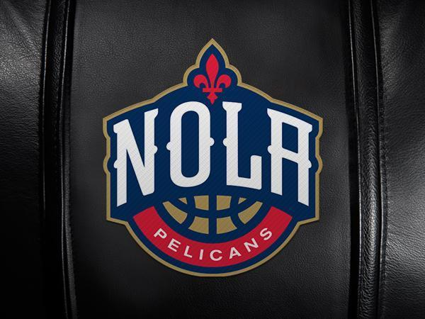 New Orleans Pelicans NOLA Logo Panel For Xpression Gaming Chair Only