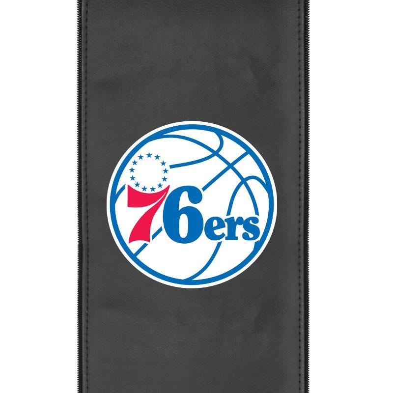Philadelphia 76ers Primary Logo Panel For Stealth Recliner