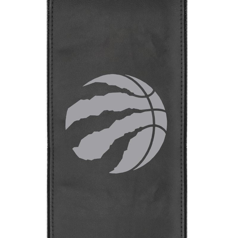 Toronto Raptors Primary Silver Logo Panel For Xpression Gaming Chair Only