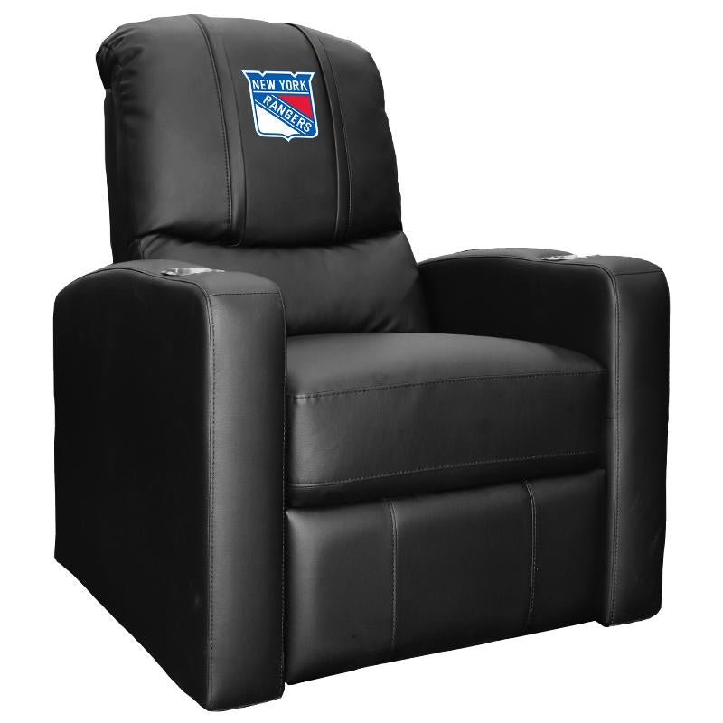 Stealth Recliner with New York Rangers Logo