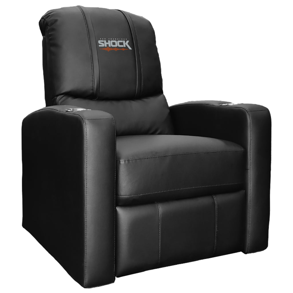 San Francisco Shock Stealth Recliner with Logo