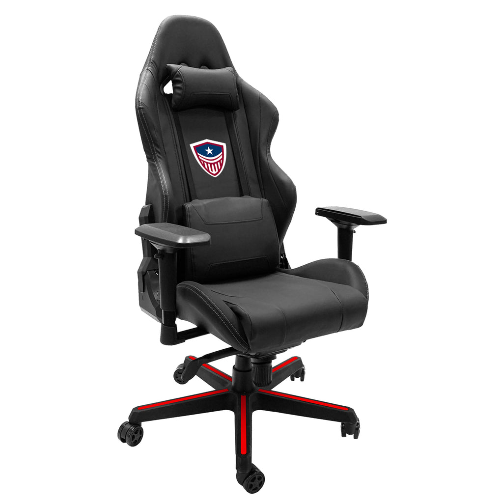 Xpression Gaming Chair with Washington Justice Icon Logo