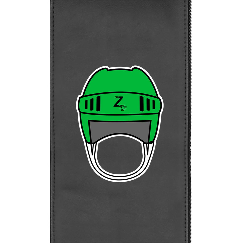 Retro Hockey Helmet Gaming Logo Panel