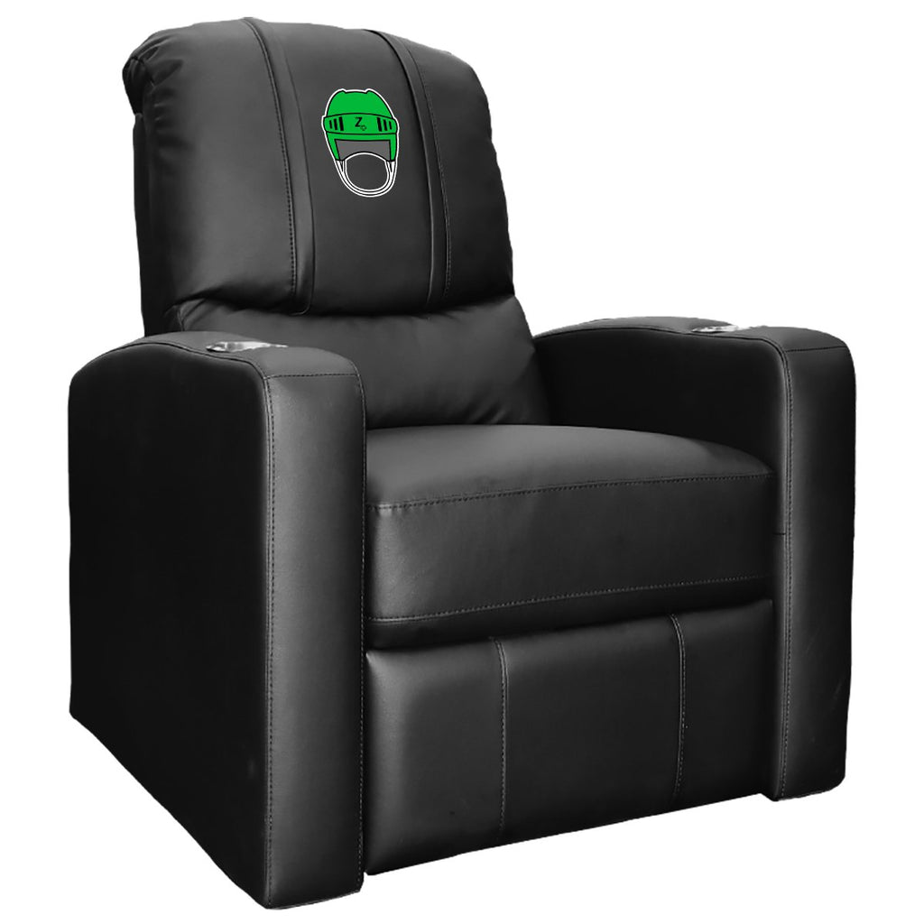 Stealth Recliner with Hockey Helmet Gaming Logo