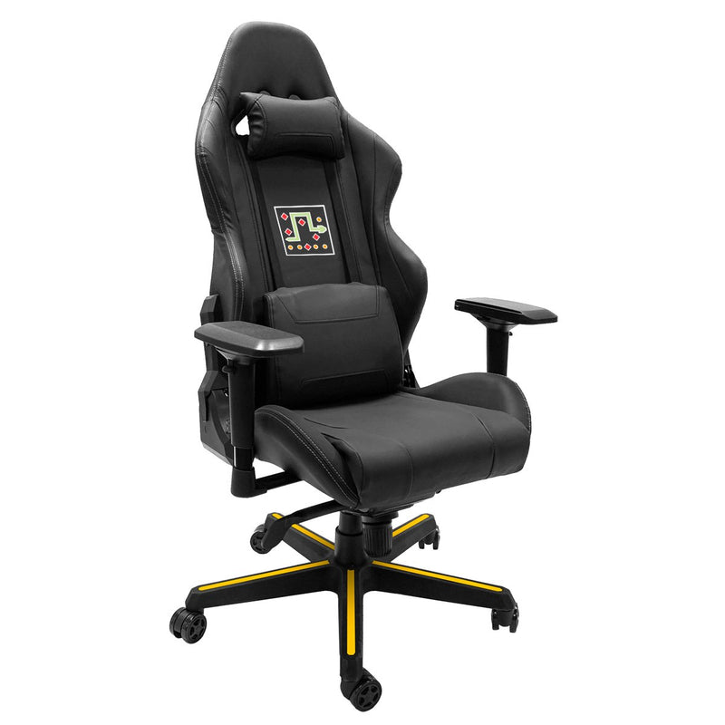 Xpression Gaming Chair with Video Game Snake Logo Panel