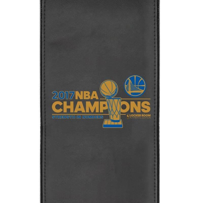 Golden State Warriors Champions Logo Panel For Xpression Gaming Chair Only