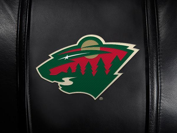 Minnesota Wild Logo Panel For Xpression Gaming Chair Only