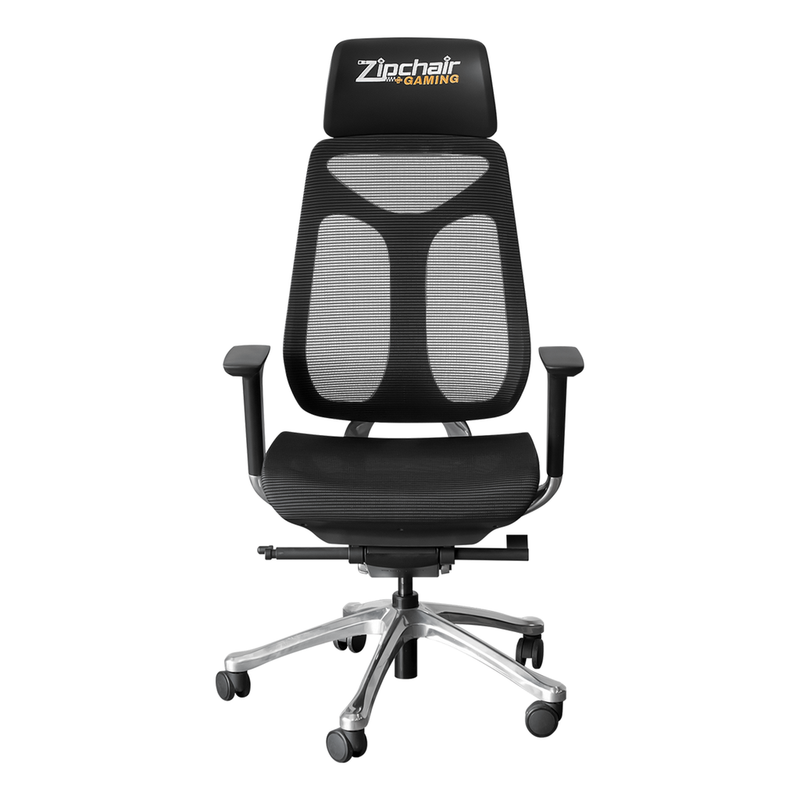 Phantomx Mesh Gaming Chair With New Orleans Saints Primary Logo Zipchair Gaming