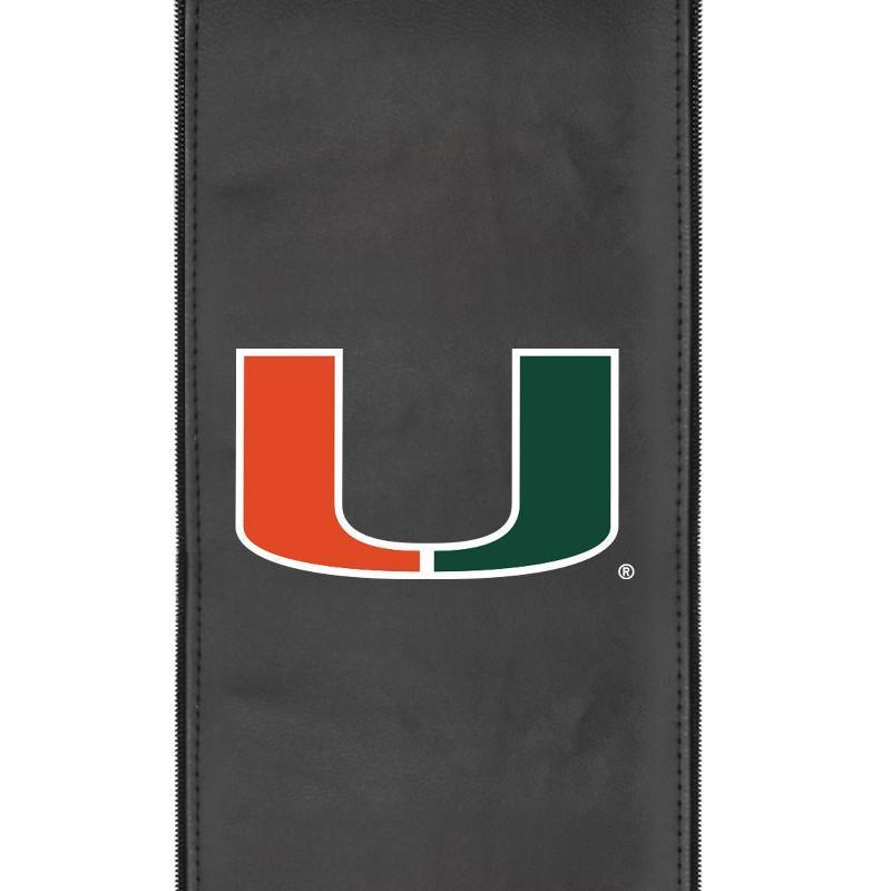 Miami Hurricanes Logo Panel For Xpression Gaming Chair Only