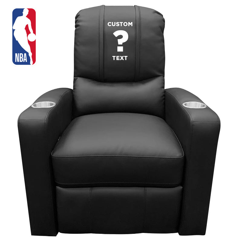 NBA Personalized Stealth Recliner