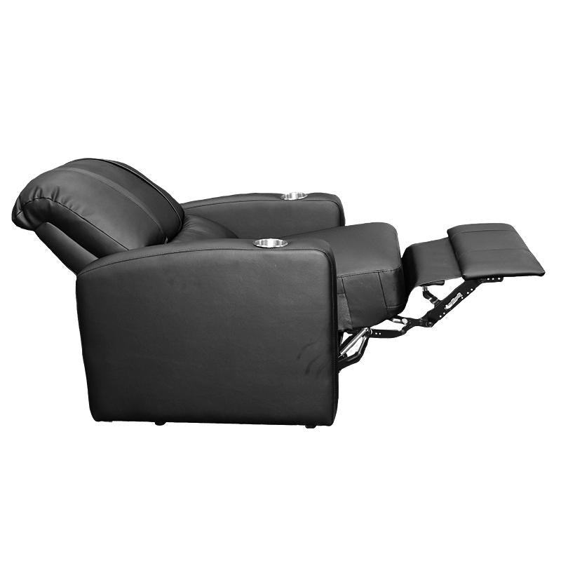 Stealth Recliner with South Dakota Coyotes Emblem Logo