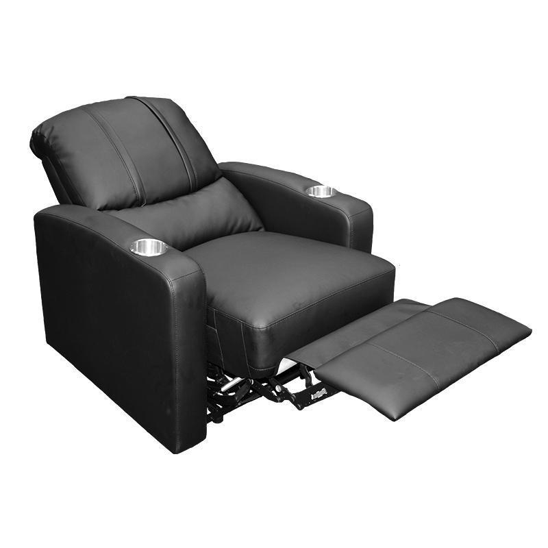 Stealth Recliner with  New Orleans Saints Helmet Logo
