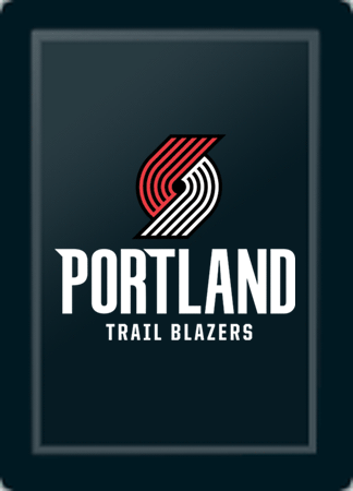 Portland Trailblazers Secondary Logo Panel For Stealth Recliner