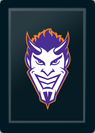 Northwestern State Demon Head