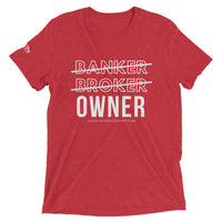 OWNER Tri-Blend Tee by AMNET ESOP
