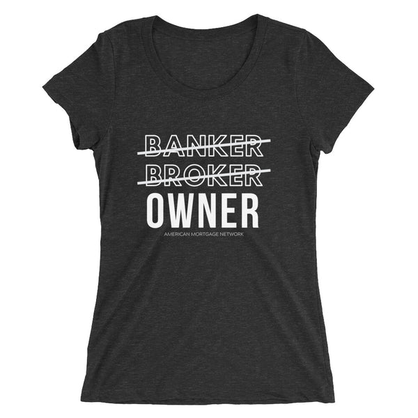 OWNER Ladies' short sleeve t-shirt