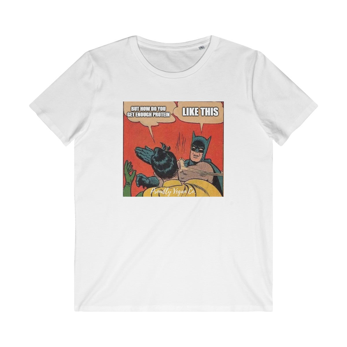 Vegan Memes Organic Cotton Unisex T-shirt Eco-Friendly Recyclable Fair Trade - Proudly Vegan Co.