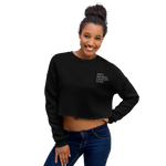 Anti Animal Cruelty Club Crop Top Sweatshirt - Proudly Vegan Co.