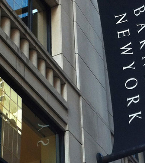 Barneys New York shop front