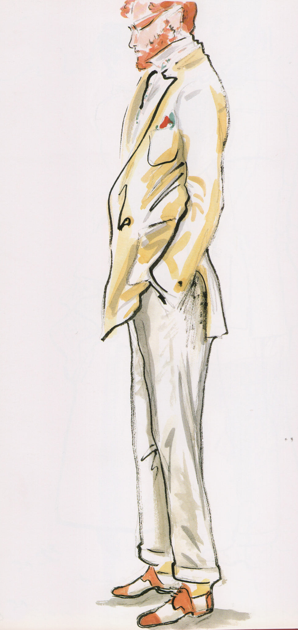 Karl Lagerfeld Illustration