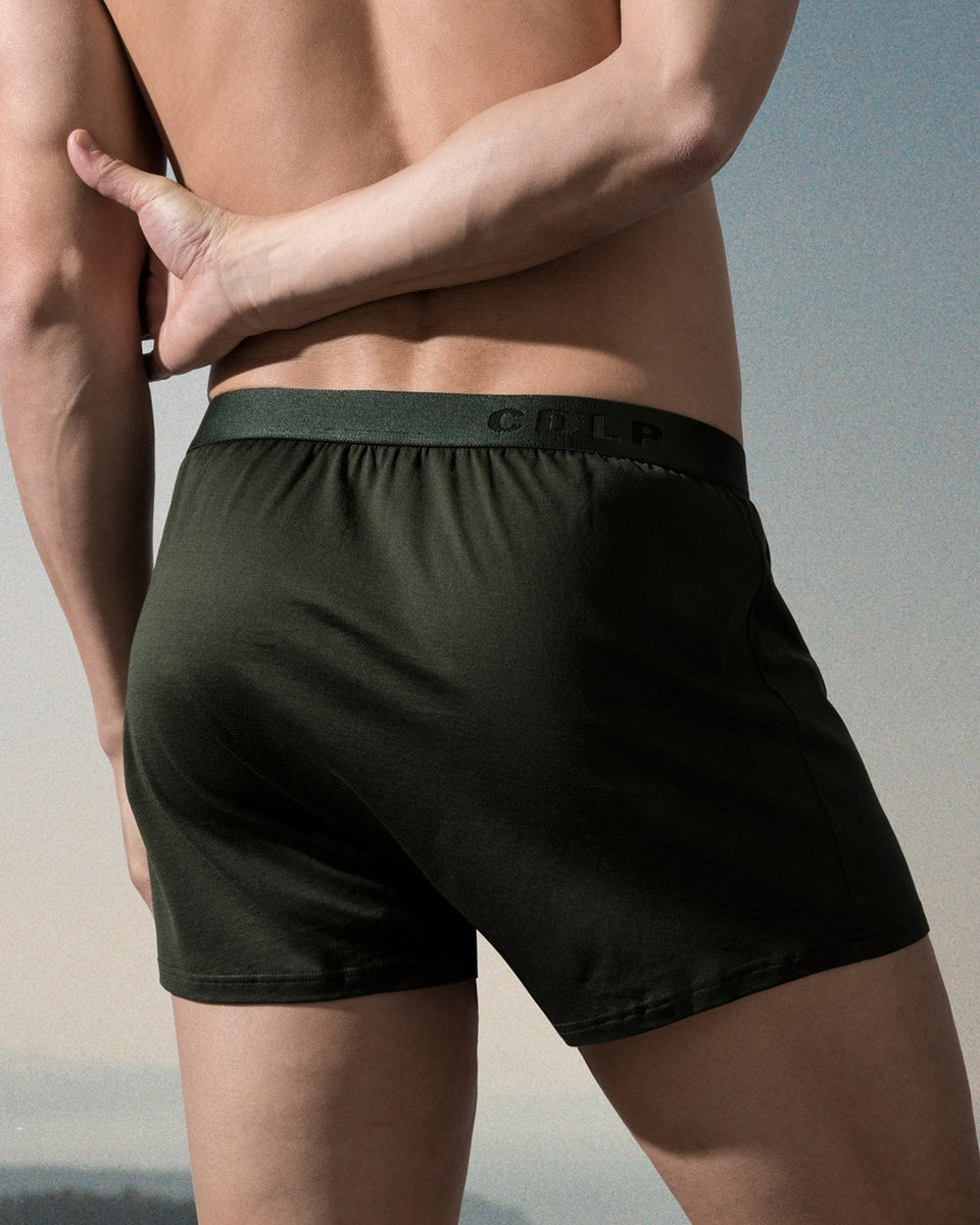 CDLP Underwear | Boxer Short | Army Green