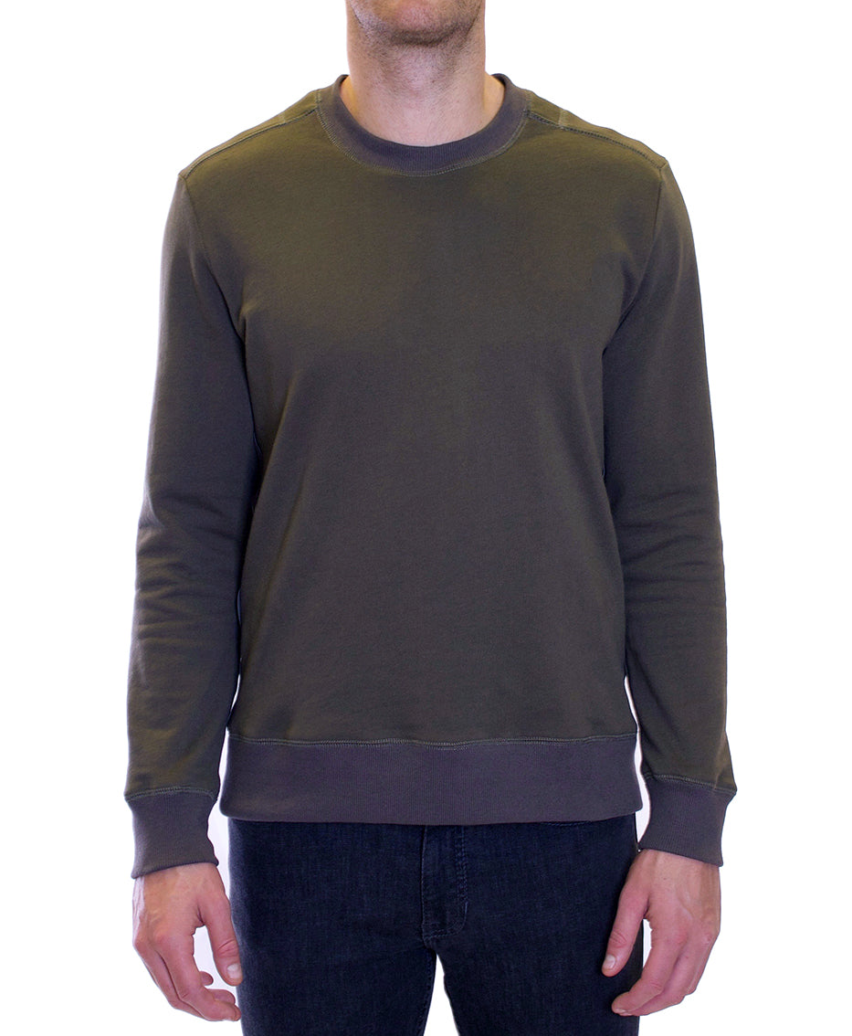 Sylvester Sweat Top | Forest