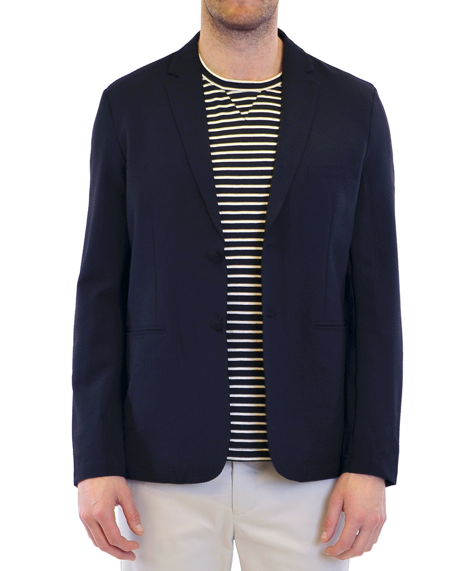 Tech Stretch Blazer | Black