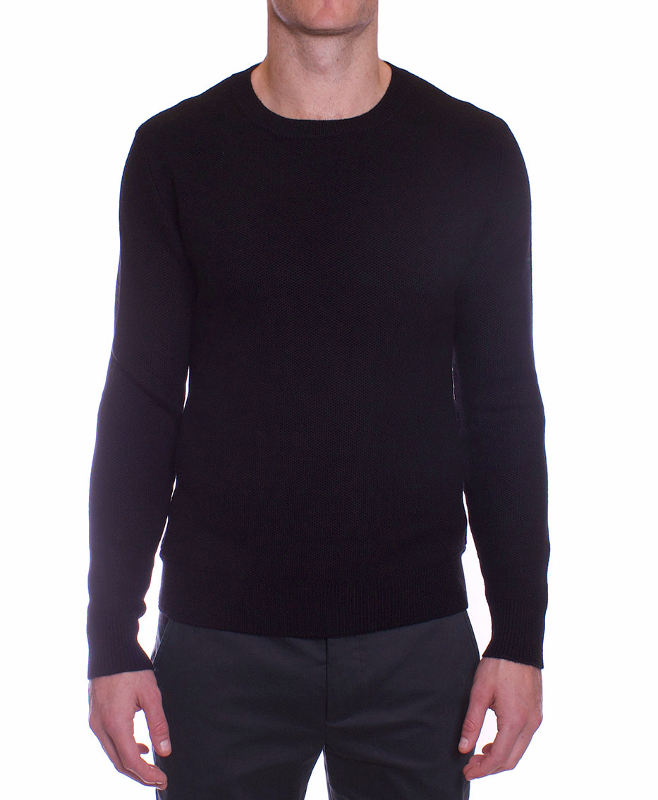 Scott Crew Knit | Black