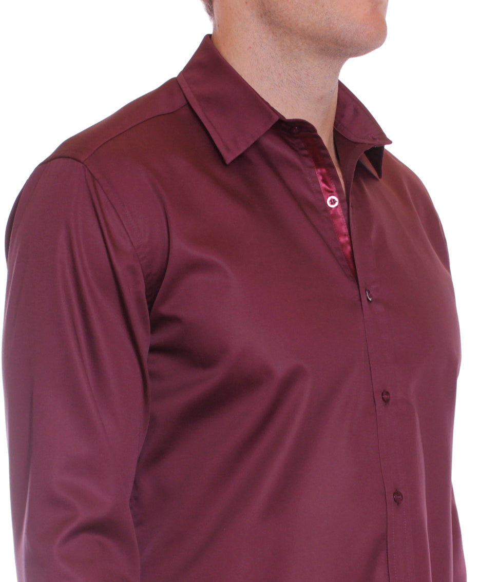 Mens Long Sleeve Shirt | Australian Designer Menswear | Fitzroy