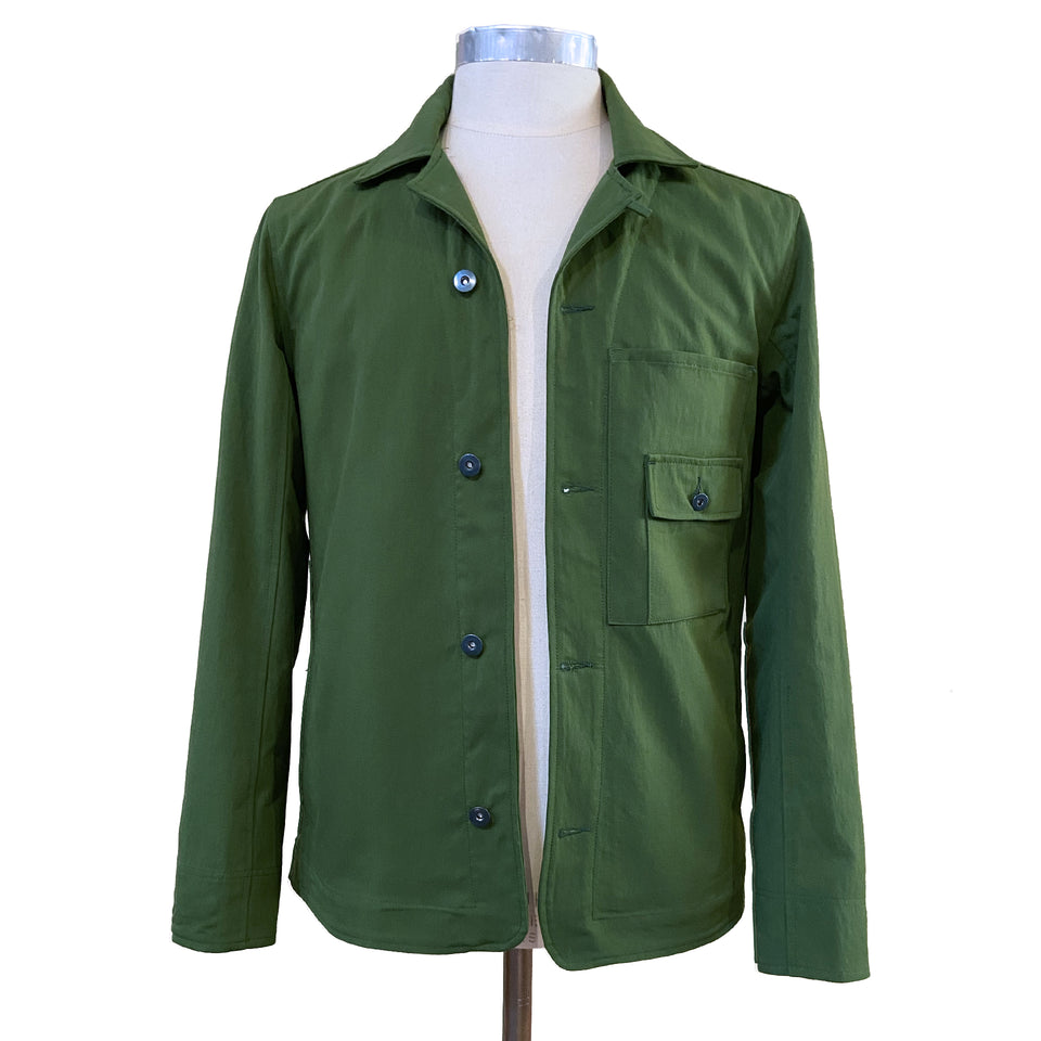 Nylon Breaker jacket | Green