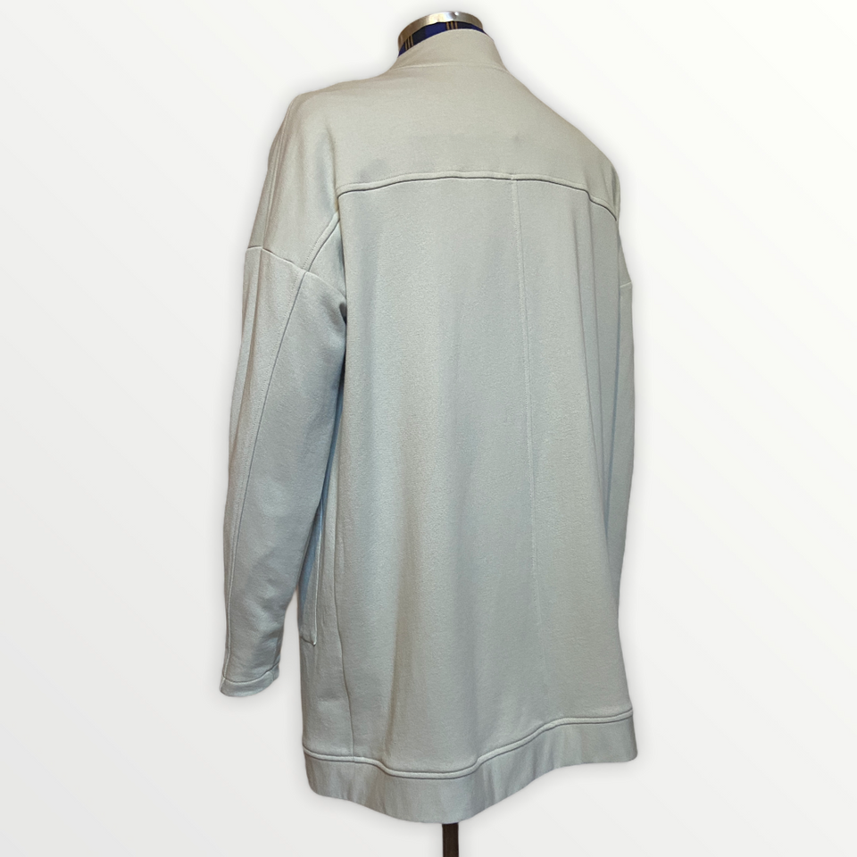 Relaxed long line Cardi | Putty