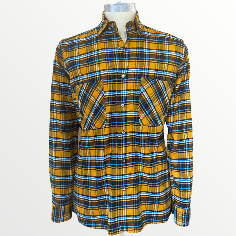 Joey Flannel Shirt | Gold