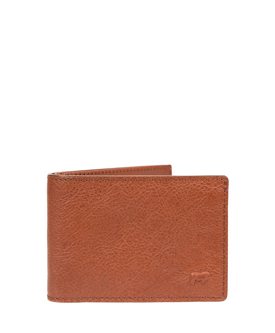 Will Leather | Zip Pocket Billfold | Cognac