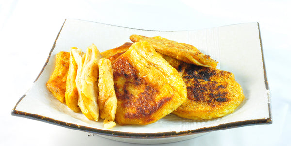 Pan-fried Textured Vegetarian Protein