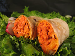 Meatless Butter Chick*n Wrap