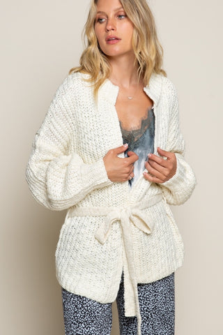 mellow cream cardigan