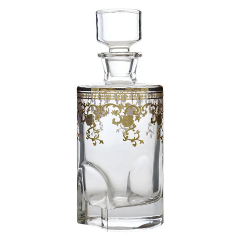 gold filigree decanter