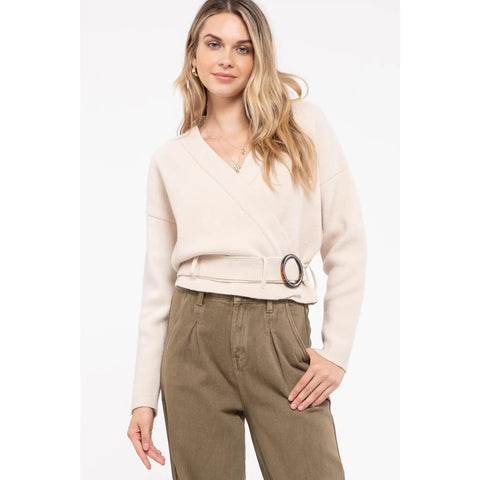 bailey belt sweater