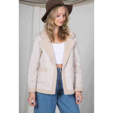 sheepish shearling coat