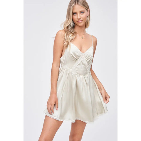 angel slip dress