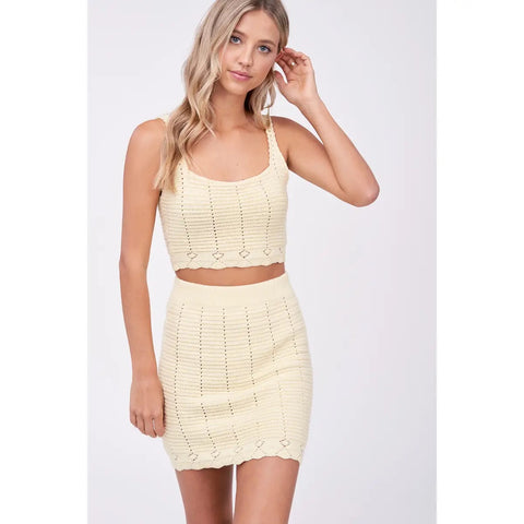 buttercup crochet top