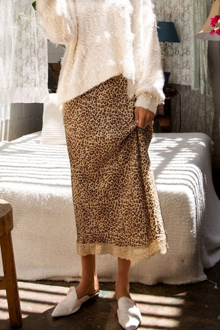 goldie leopard skirt
