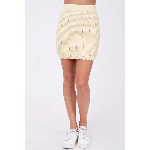 buttercup crochet skirt