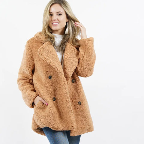 teddy love coat