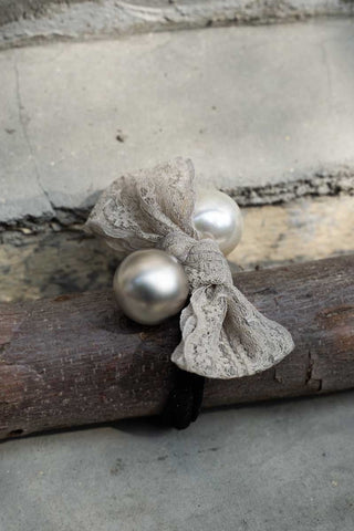 grey gardens bauble hair tie