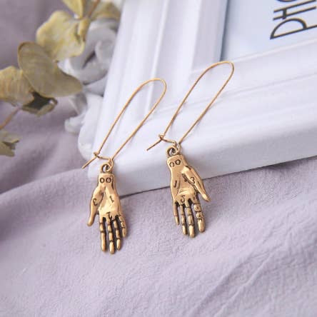 palmistry earrings